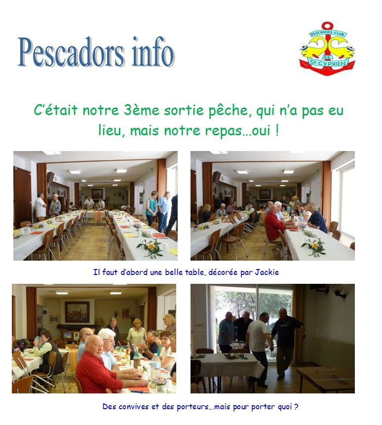 Pescadors info