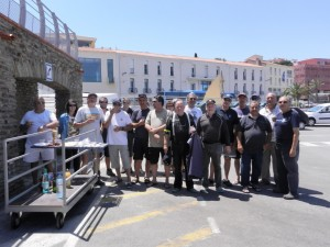 Sortie organisée par la Réserve Marine de Banyuls sur Mer avec le club des Pescadors. Le 10 Juin 2014
